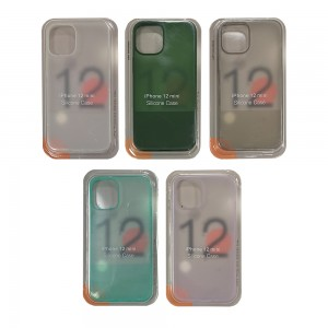 iPhone 12 Mini - Silicone Translucent Phone Case