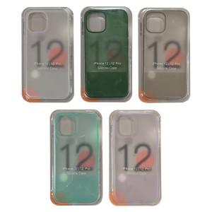 iPhone 12 / 12 Pro - Silicone Translucent Phone Case