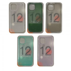 iPhone 12 Pro Max - Silicone Translucent Phone Case
