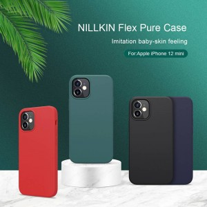 iPhone 12 Mini - Nillkin Flex Liquid Silicone Case