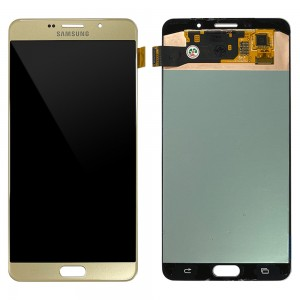 Samsung Galaxy A9 Pro 2016 A910F - Full Front LCD Digitizer Gold