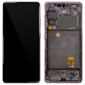 Samsung Galaxy S20 FE G780 - Full front LCD Digitizer With Frame Purple < Service Pack >