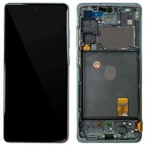Samsung Galaxy S20 FE G780 - Full front LCD Digitizer With Frame Green < Service Pack >