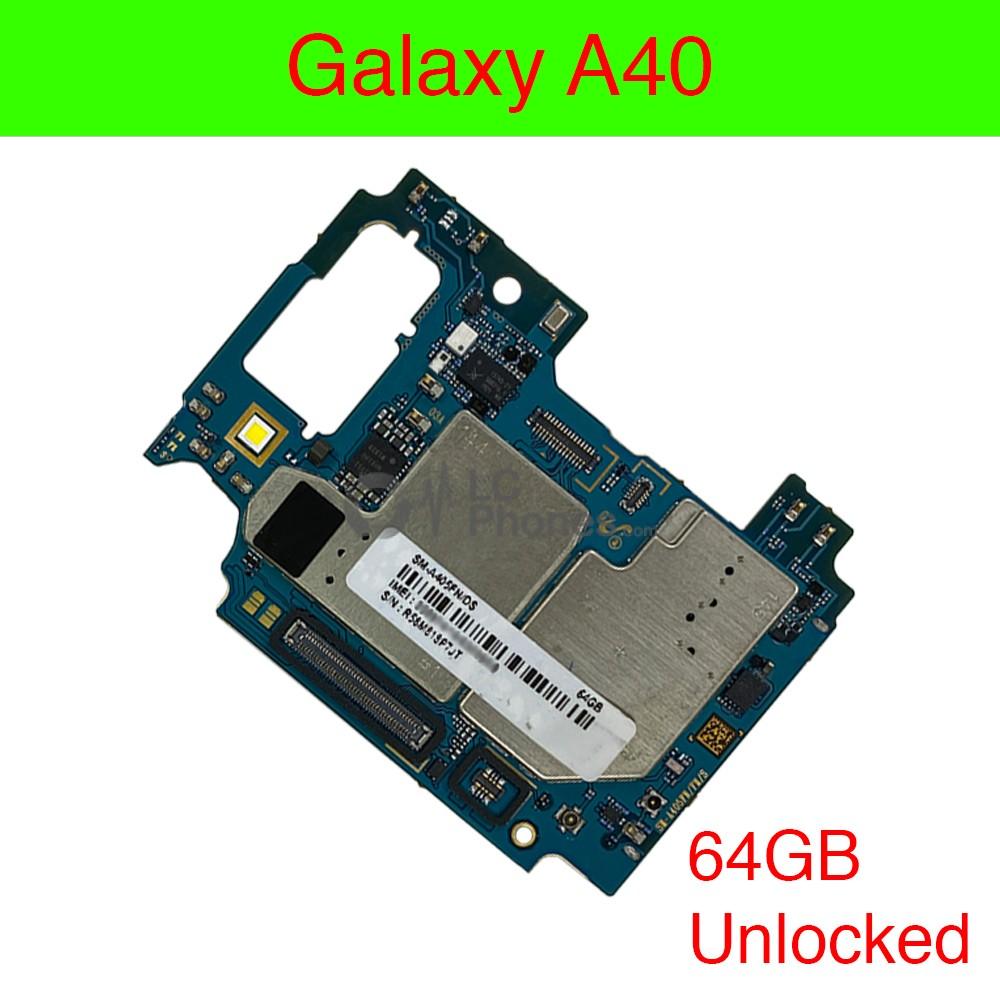 Samsung Galaxy A40 A405 - Fully Functional Logic Board 64GB UNLOCKED