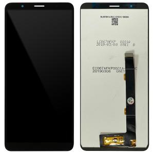 Alcatel 3c 2019 5006D - Full Front LCD Digitizer Black