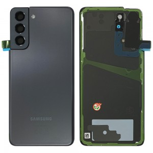 Samsung Galaxy S21 G990 / S21 5G G991 - Battery Cover Original with Camera Lens and Adhesive Phantom Gray < Service Pack >