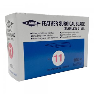 Feather - Sterile Surgical Blades 100Pcs No:11