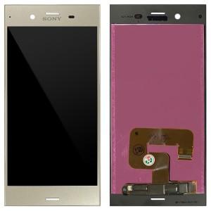 Sony Xepria XZ1 F8342 - Full Front LCD Digitizer Warm Silver