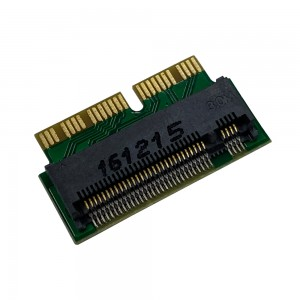 Macbook Air A1465 A1466 / Pro A1398 A1502 - NVMe PCIe M2 SSD Expansion Adapter Card NGFF to MD711 MD712 N-941