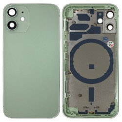 iPhone 12 Mini - Back Housing Cover with Buttons Green