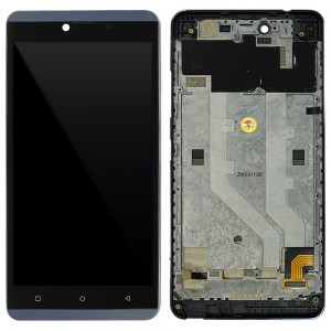 Laiq Glow - Full Front LCD Digitizer with Frame Gray