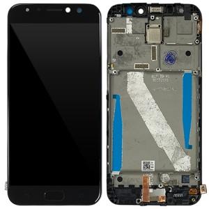 Asus Zenfone 4 Selfie Pro ZD552KL - Full Front LCD Digitizer with Frame Black