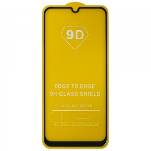Samsung Galaxy M21 M215F - Full Arc Tempered Glass Black