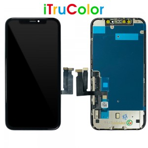 iPhone XR - ITruColor Full Front LCD Digitizer Black In-Cell
