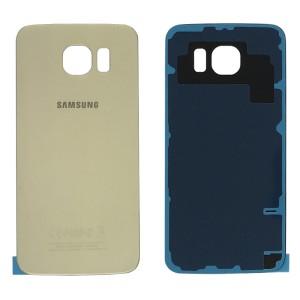 Samsung Galaxy S6 G920 - Tampa De Bateria Dourada