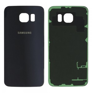 Samsung Galaxy S6 G920 - Tampa De Bateria Azul / Preto Safira
