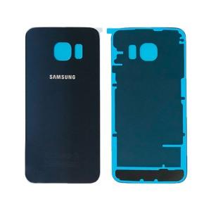 Samsung Galaxy S6 Edge G925 - Tampa De Bateria Preta Safira