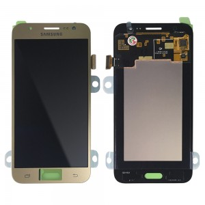 Samsung Galaxy J5 J500F - Full Front LCD Digitizer Gold (Original Remaded)