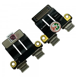 Macbook A1989 / A1990 / A2159 / A2251 / A2289 / A2141 / A2337 / A2338 (MID 2018, LATE 2020) - I/O Board Flex Cable 821-01646-02