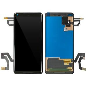 Google Pixel 2 XL - Full Front LCD / OLED Digitizer Black
