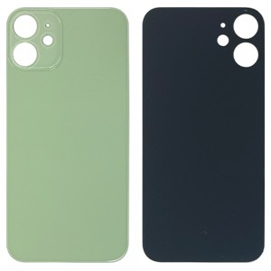 iPhone 12 Mini - Battery Cover with Big Camera Hole Green