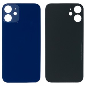 iPhone 12 Mini - Battery Cover with Big Camera Hole Blue
