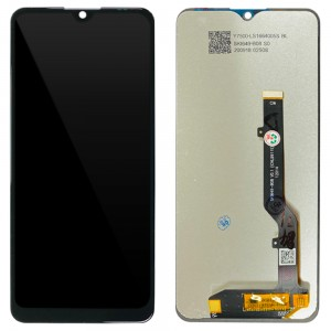 ZTE Blade A7S 2020 - Full Front LCD Digitizer Black