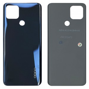 OPPO A15 CPH2185 / A15s CPH2179 - Battery Cover Dynamic Black