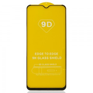 OPPO A15 CPH2185 / A15s CPH2179 - Full Arc Tempered Glass Black