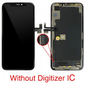 iPhone 11 Pro - Full Front OLED Digitizer without Touch IC Black ( Original Remaded )
