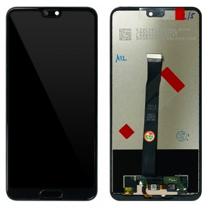 Huawei P20 - Full Front LCD Digitizer Black < Service Pack >