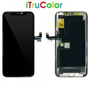 iPhone 11 Pro - ITruColor Full Front LCD Digitizer Black In-Cell