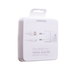 Samsung Original Complete Travel Adapter Fast Charge 15W USB Type-C to A Cable EP-TA20EWE