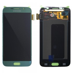 Samsung Galaxy S6 G920F - Full Front LCD Digitizer Blue < Service Pack >