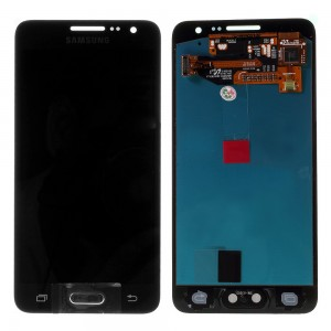 Samsung Galaxy A3 A300 - Full Front LCD Digitizer Black < Service Pack >