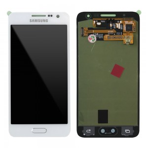 Samsung Galaxy A3 A300 - Full front LCD Digitizer White < Service Pack >