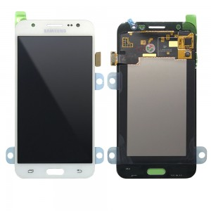 Samsung Galaxy J5 J500F - Full Front LCD Digitizer White < Service Pack >