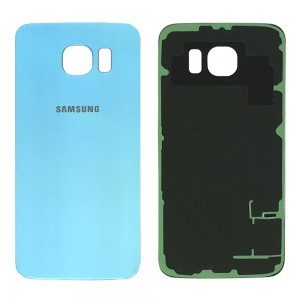 Samsung Galaxy S6 G920F - Battery Cover Blue with Adhesive