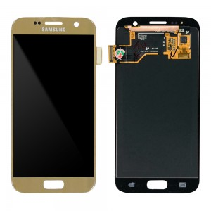 Samsung Galaxy S7 G930F - LCD Touch Screen Dourado