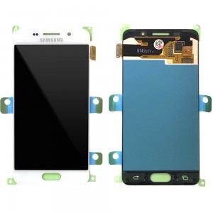 Samsung Galaxy A3 2016 A310 - Full Front LCD Digitizer White < Service Pack >