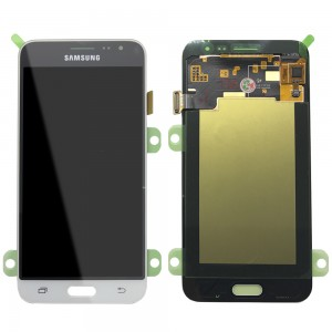 Samsung Galaxy J3 2016 J320F - Full Front LCD Digitizer White < Service Pack >