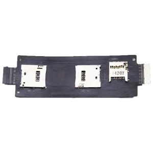 Asus Zenfone 2 ZE550ML ZE551ML - SIM 1/2 & SD Card Reader Flex Connector