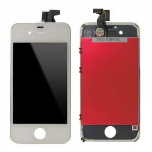 iPhone 4S - LCD Touch Screen OEM Branco (Original Recondicionado)