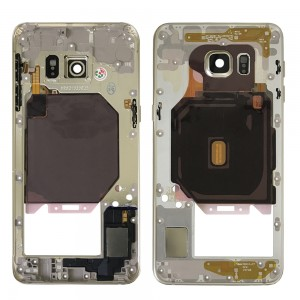 Samsung Galaxy S6 Edge Plus G928F - Middle Frame Full Assembled Gold