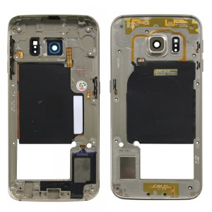 Samsung Galaxy S6 Edge G925 - Middle frame Gold
