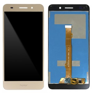 Huawei Ascend Y6 II - Full Front LCD Digitizer Gold (Honor Letters)