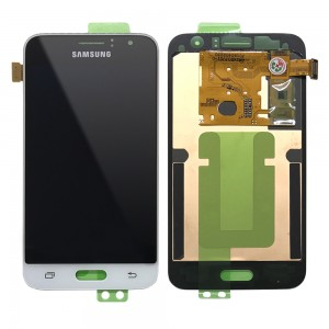 Samsung Galaxy J120 - Full Front LCD Digitizer White < Service Pack >