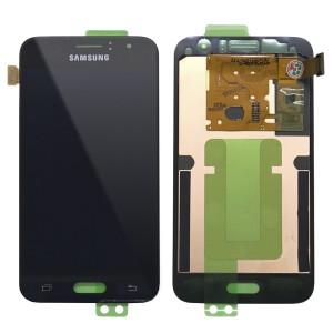 Samsung Galaxy J120 - Full Front LCD Digitizer Black < Service Pack >