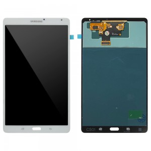 Samsung Galaxy Tab S 8.4 Wifi SM-T700 - Full Front LCD Digitizer (Service Pack) White