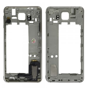 Samsung Galaxy Alpha G850F - Middle Frame Silver Full Assembled